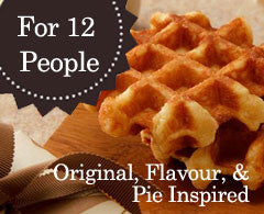 50 Mini Original, Flavour, & Pie-Inspired Waffles