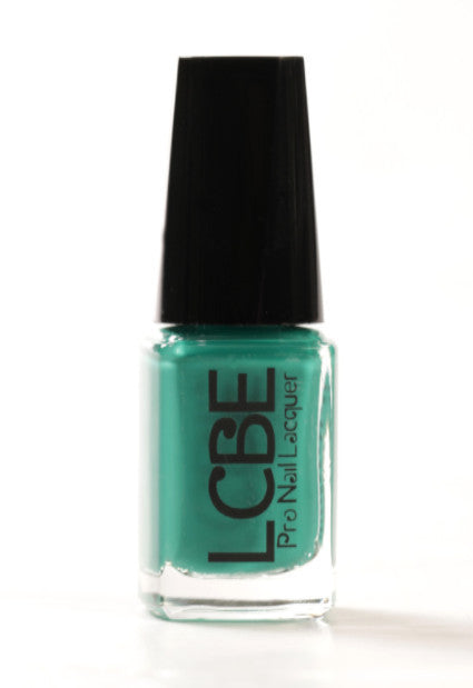 LCBE Pro Nail Lacquer-Gorgeous Teal