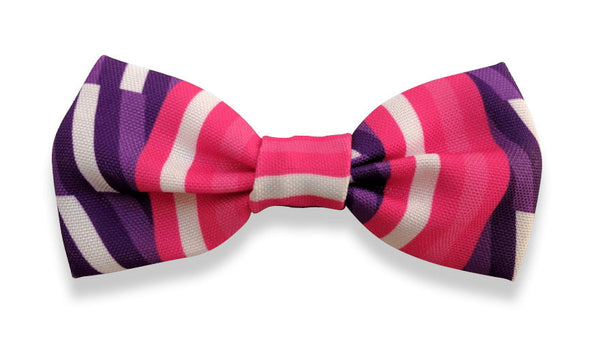 Stripes Bow Tie