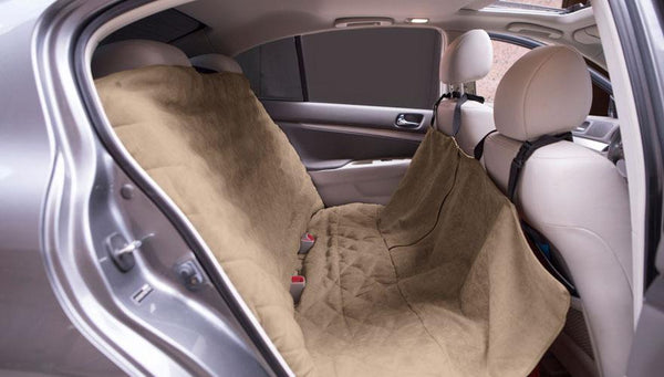 Tan Car Seat Cover