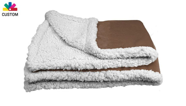 Custom Sherpa Blanket