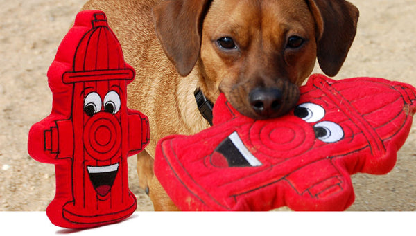Fire Hydrant Dog Toy