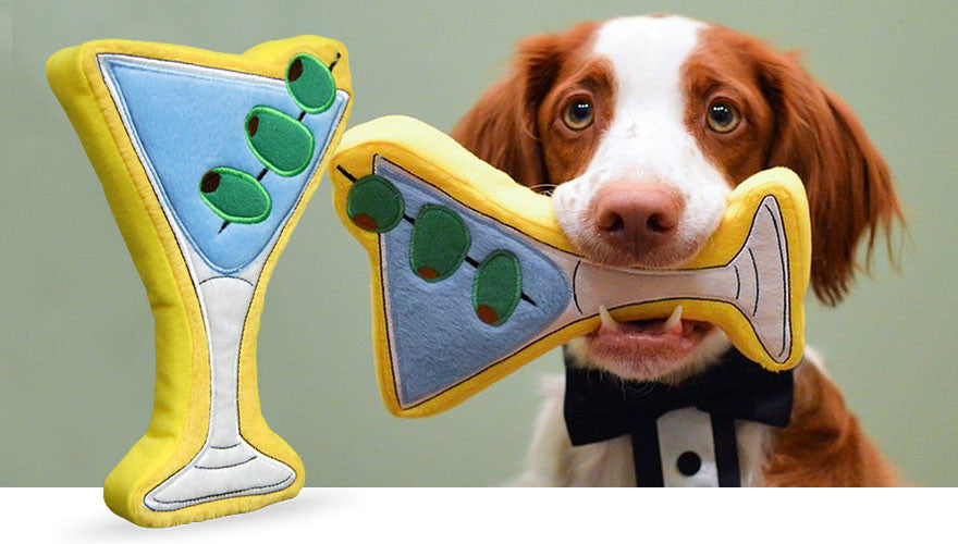 Martini Dog Toy