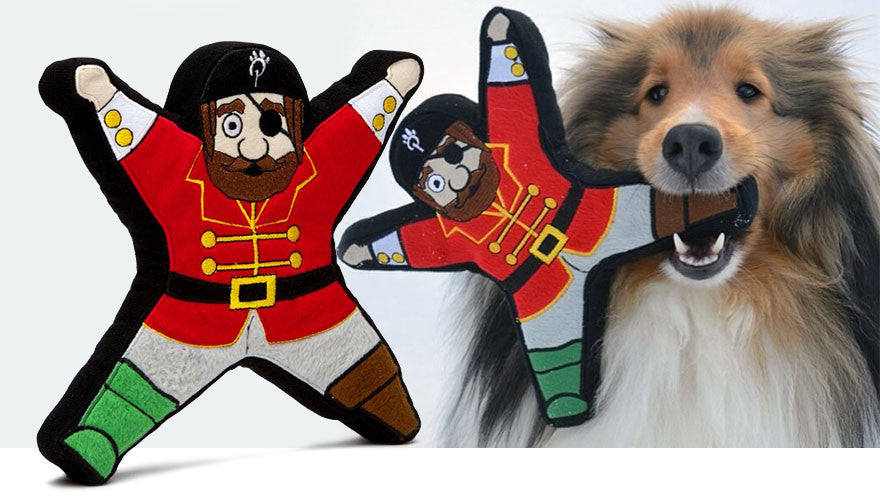 Hook the Pirate Dog Toy