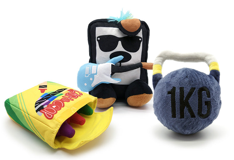 Customizable Plush Dog Toys