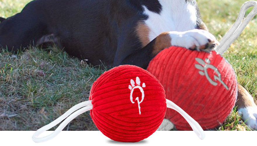 Red Ultralight Ball & Rope