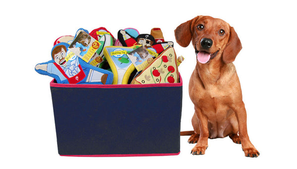 Regal Beagle Toy Basket