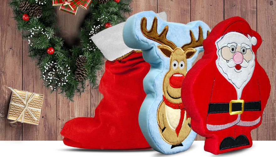 Santa & Reindeer Stocking Bundle