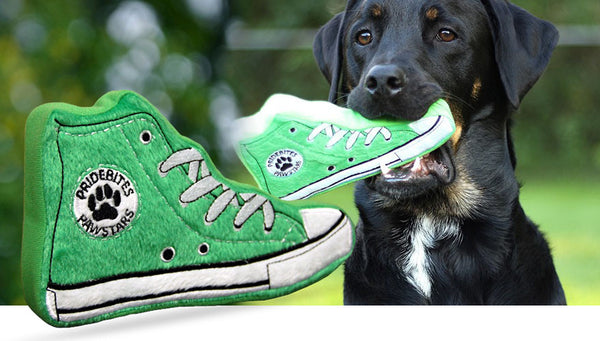 Hip Sneaker Dog Toy