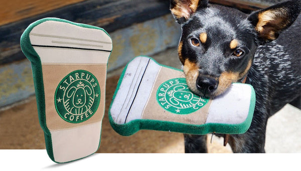 Starpups Coffee Dog Toy
