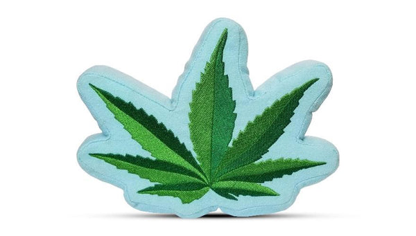 Weed Leaf Dog Toy