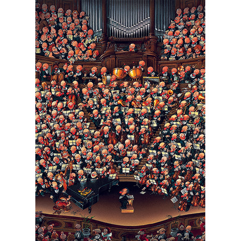 2000 piece Puzzle - Orchestra