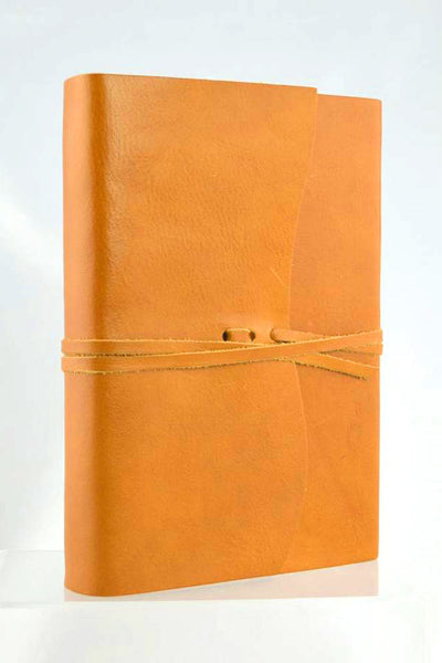 Handmade Leather Journal / Note Book - Roma Lussa