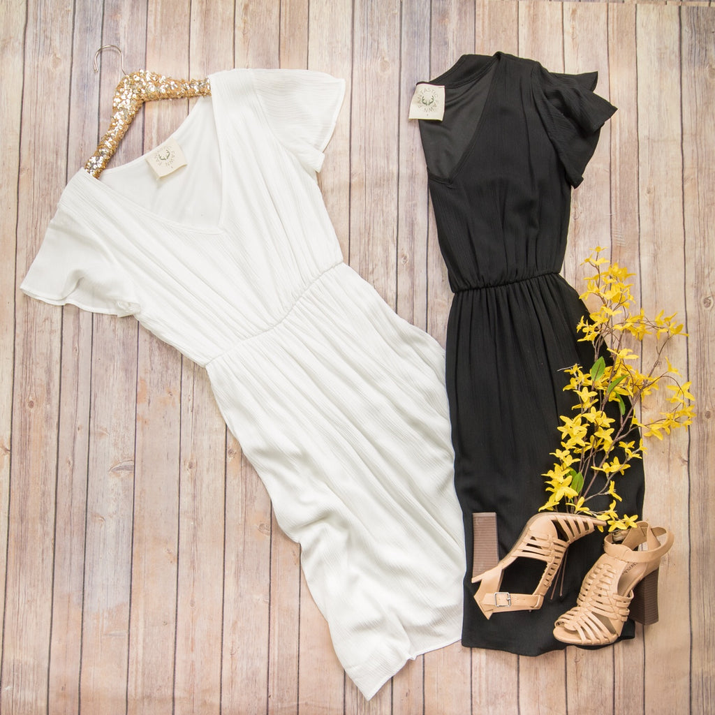Solid and Longer Dress
