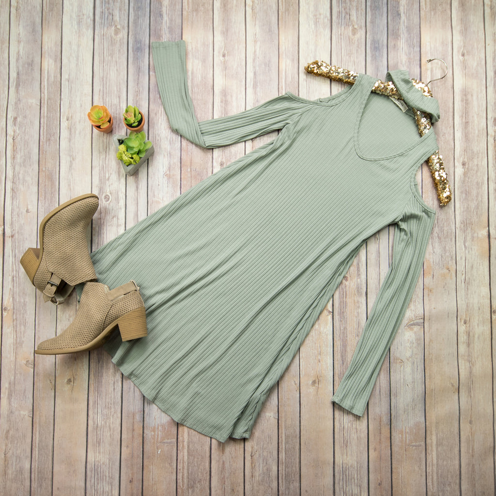 Cross Taupe Dress 9014D*ALL SALES FINAL