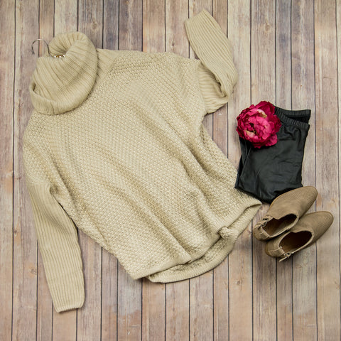 Chunky Ivory Sweater 1087C