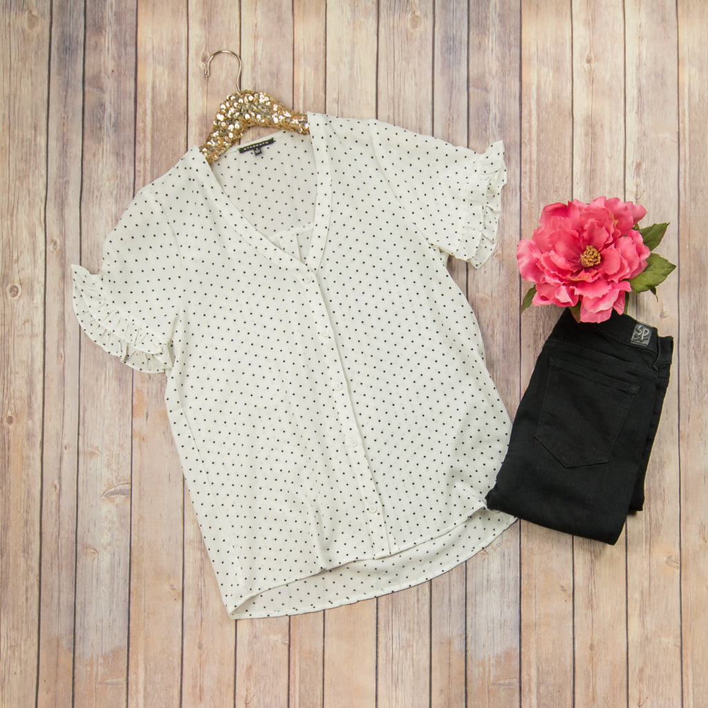 Dainty Dot Top***