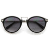Vintage Celebrity p3 Horned Rim Sunglasses 8591