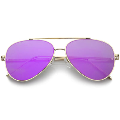 Gold Purple Mirror