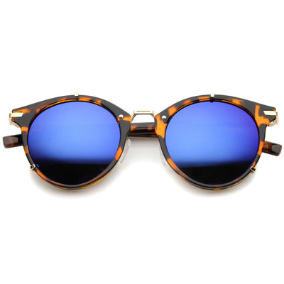Tortoise Gold Blue Mirror