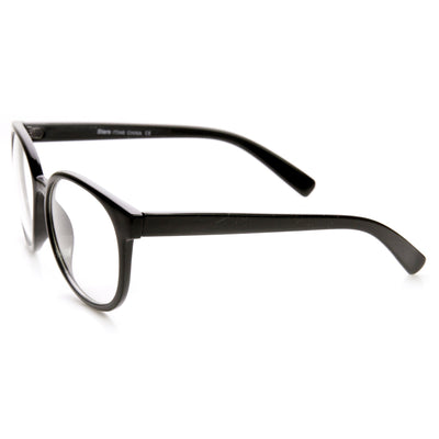 81283e6f47 ... Large Round P3 Vintage Inspired Clear Lens Glasses 9425 · Black · Black  · Black · Tortoise · Black. Black. Black. Black