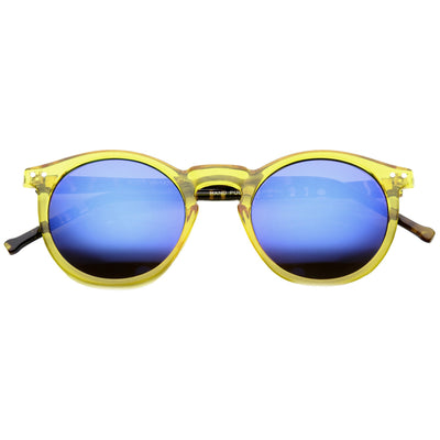 Clear Yellow Tortoise Blue Ice
