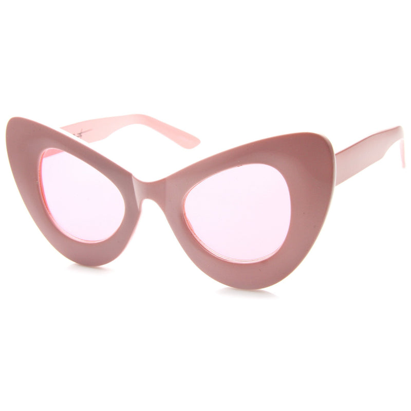 Valley City X zeroUV Aubrey Oversize Cat Eye Sunglasses A535