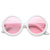 Valley City X zeroUV Mod Oversize Round Sunglasses A536