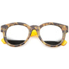 Tortoise Yellow Silver Mirror