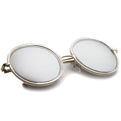 Clear Gold Silver Mirror
