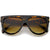 Large Oversized Flat Top Teardrop Frame Aviator Sunglasses 9142