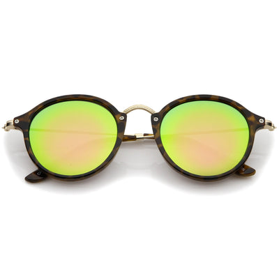 Tortoise Gold Pink Green Mirror