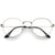 Vintage Dapper 1920's Clear Lens Spectacle Glasses C135