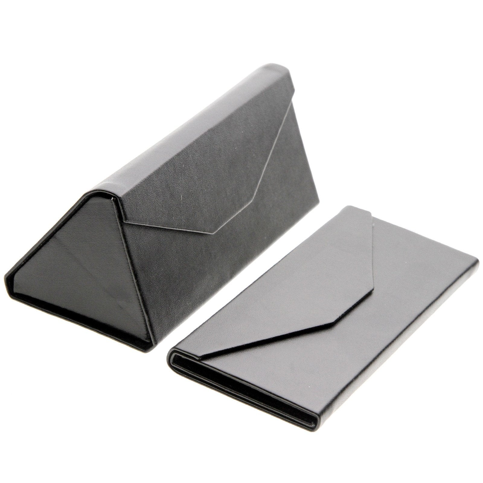 Modern Low Profile Tri Folding Triangle Sunglasses Case