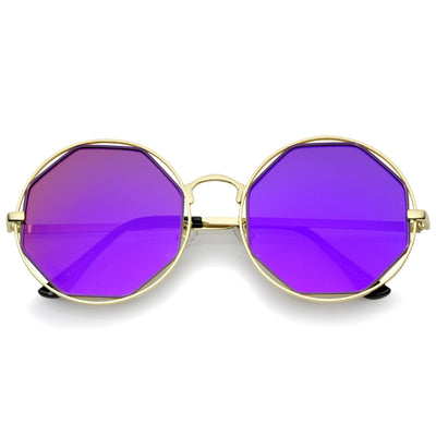 Gold Purple Purple Mirror