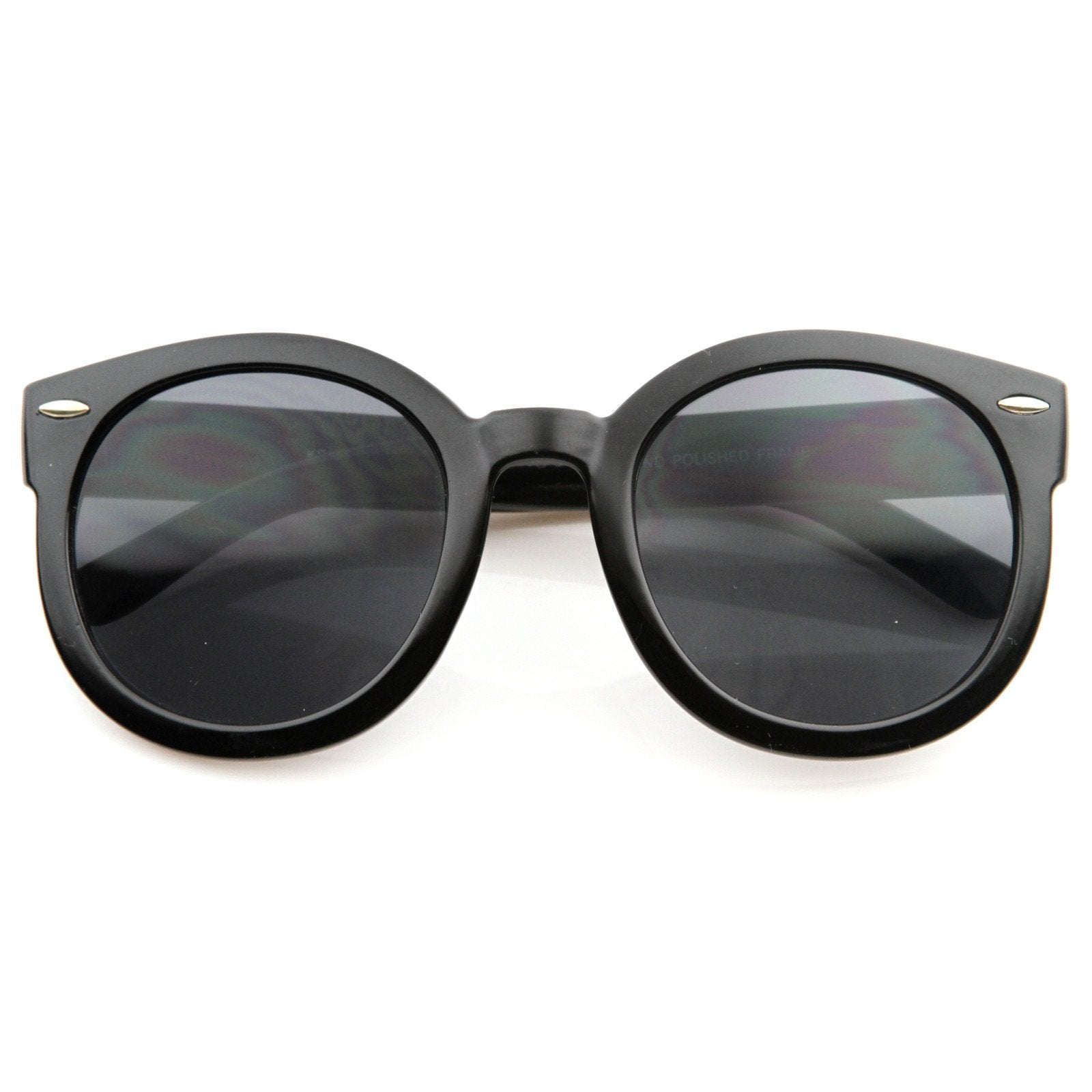 3cab5d04563d6 Modern Rounded Circle P3 Indie Fashion Sunglasses - zeroUV