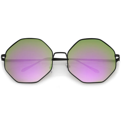 Black Purple Green Mirror