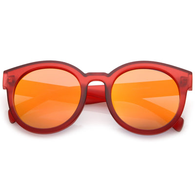 Red Orange Mirror