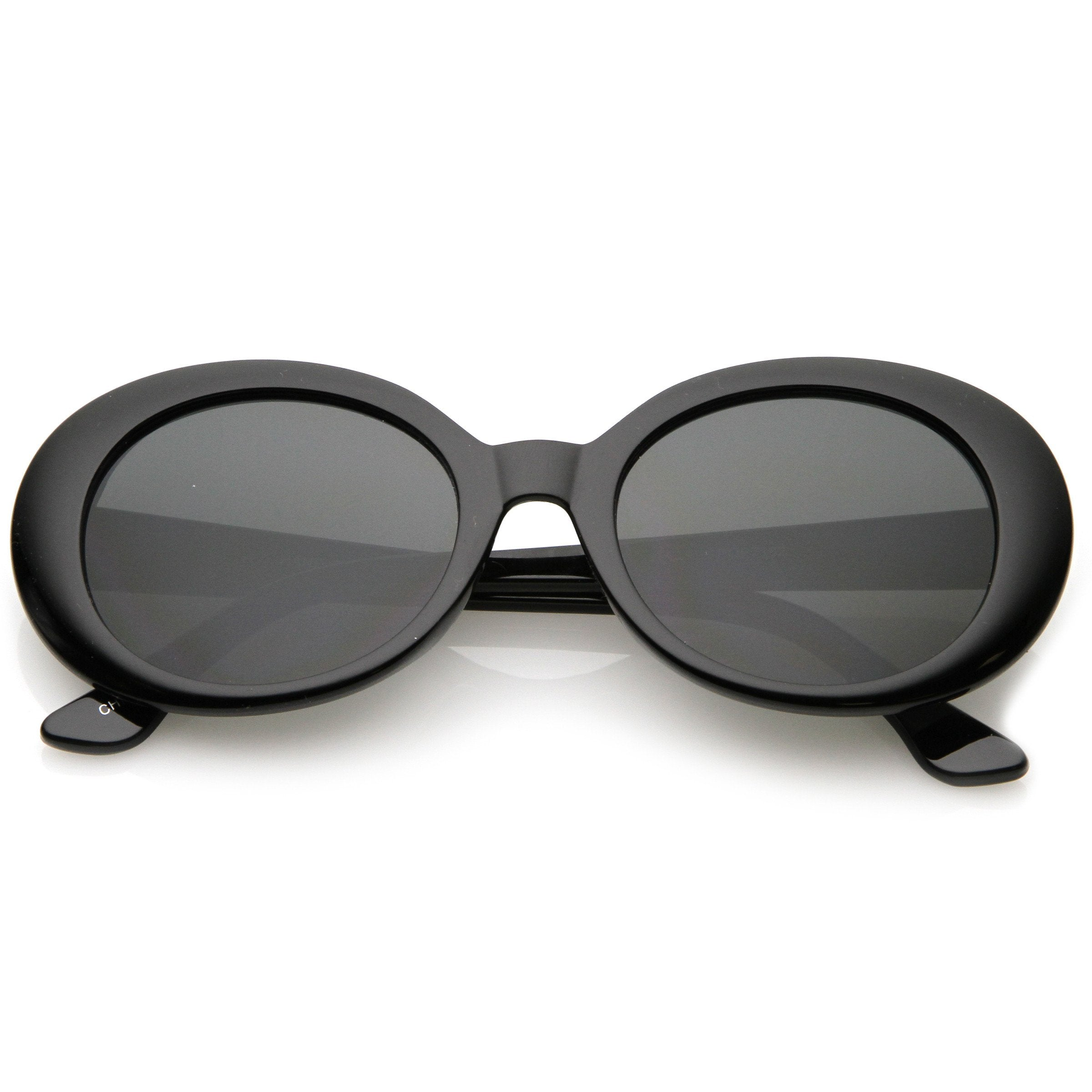 0d11918d3c Oversize Retro Tapered Arms Clout Goggle Oval Sunglasses 53mm C383 ...