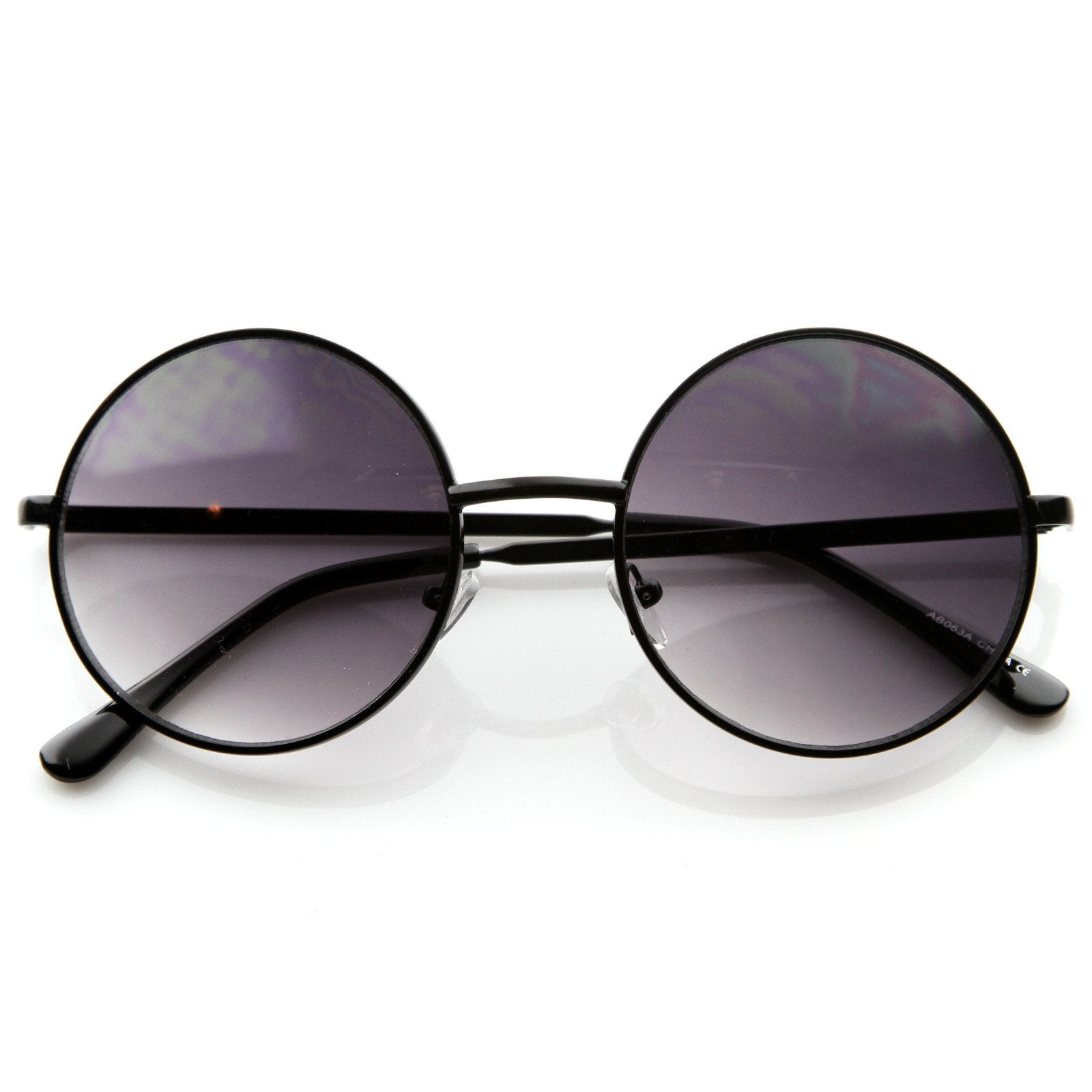 be759a36ff4 Designer Medium Round Metal Fashion Sunglasses 8570