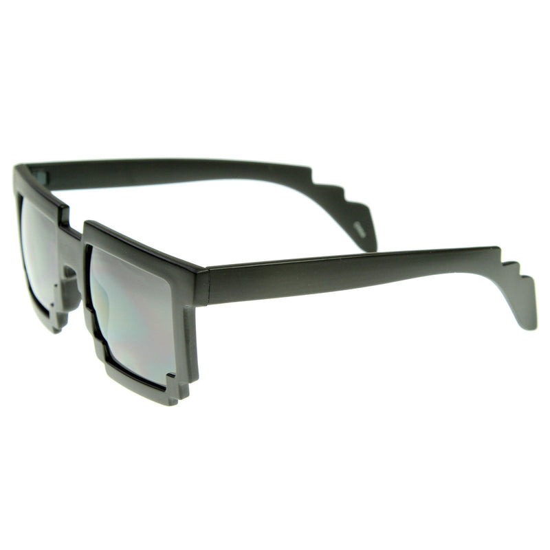 Retro Programmer Gamer Pixelated 8-Bit Nerd Sunglasses 8538