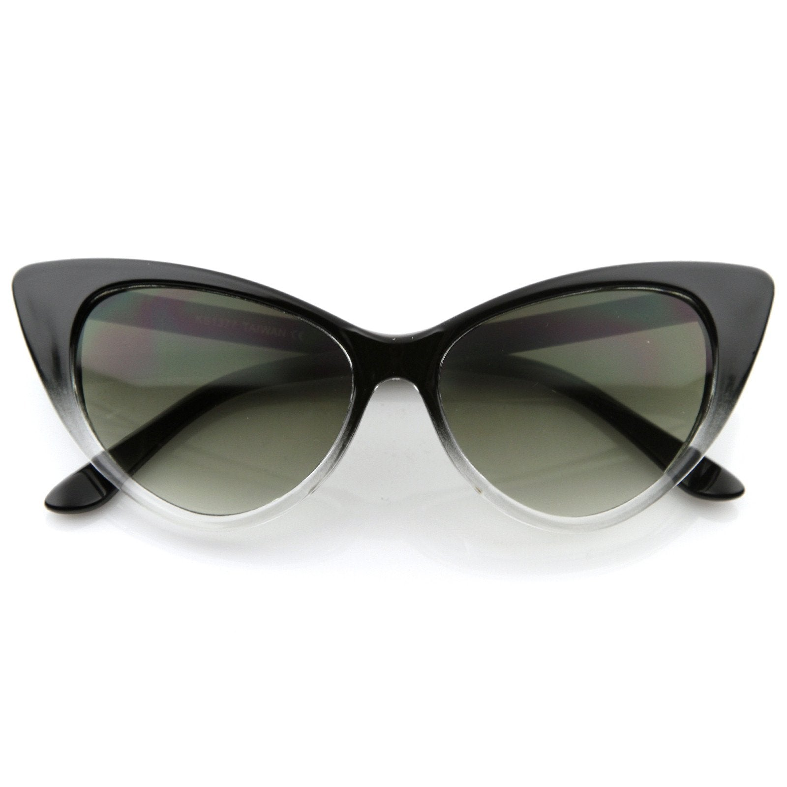 77f4303742 Retro 1950 s Pointed Cat Eye Fashion Sunglasses 8571