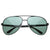 High Grade Premium Polarized Large Classic Metal Aviator Sunglasses 8320