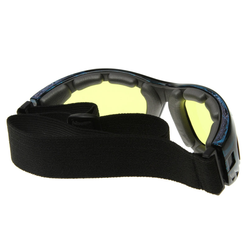 Action Sports Protective Goggles With Adjustable Strap 8331