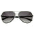 Premium Optical Quality Nouveau Metal Laser Crafted Aviator Sunglasses 8365
