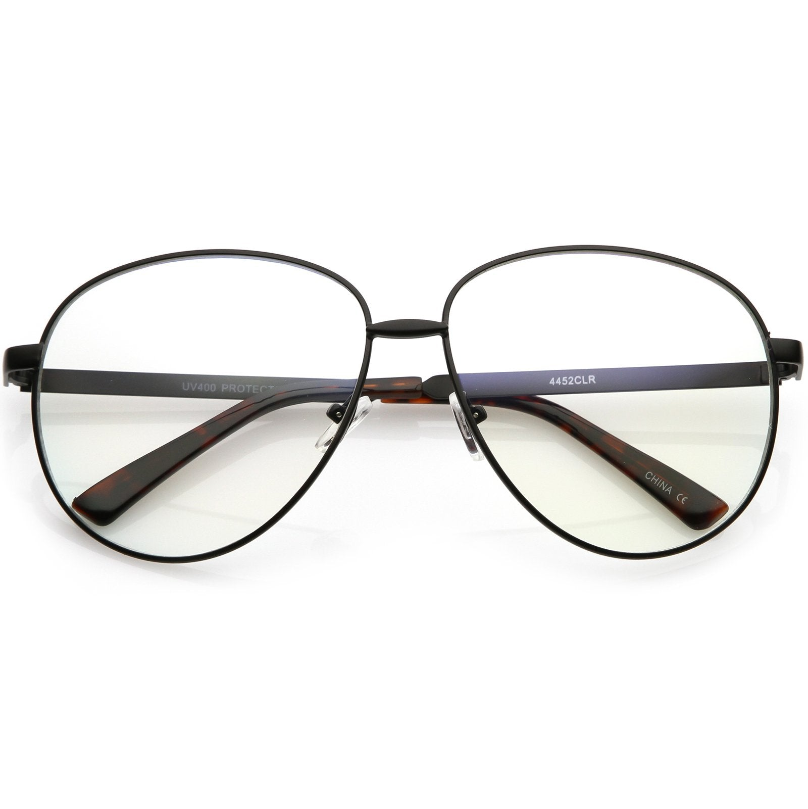65d4efc8bd Oversize Women s Round Indie Clear Lens Glasses C215