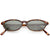 Small 1990's Dapper True Vintage Horned Rim Sunglasses C660