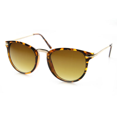 Vintage Inspired Indie Dapper Horned Rim Sunglasses 9606