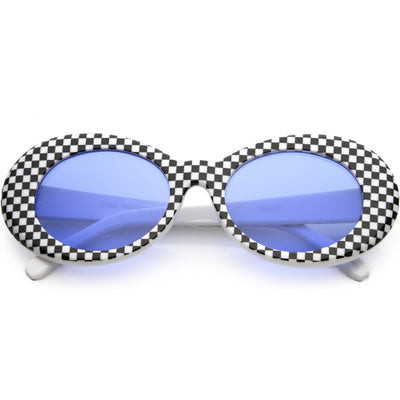 Checkered Blue