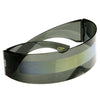 Futuristic Retro Mirror Wrap Around Shield Sunglasses 8762